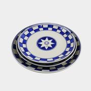 Teller-Set 'China Küchenkaro'