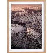 Kunstprint 'Pink Mountains'
