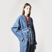 Denim-Kimonojacke von 'Sanikai'