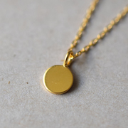 Halskette 'Tiny Medaillon'