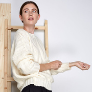 Handgestrickter Pullover von 'Vivian Graf'