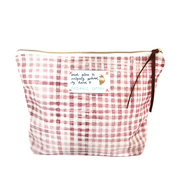 Beuteltasche 'My Rose Check'