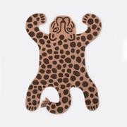 Wilder Teppich 'Leopard'