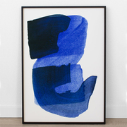 Kunstprint 'Blue'