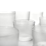 Gläser-Set 'Merci' mit Struktur