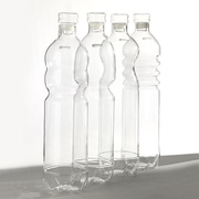 Stilvolle Wasserflaschen aus Glas