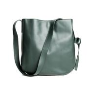 Hobobag von S&R in grünem Leder