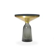 Beistelltisch 'Bell' aus Glas