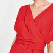 Elegantes Wickelkleid für deinen Sommer