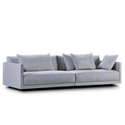 Einzelstück: 2-3 Sitzer Sofa 'Drop' mit Kissen