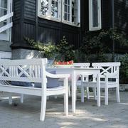 Gartenbank 'Skagen' in Weiss