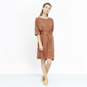 Lieblings-Jersey-Kleid 'Lili' in Dark Desert
