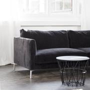 Sofa 'Mission' in Schwarz