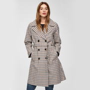 Karierter Trenchcoat von 'Selected Femme'