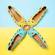 Geflochtene Lieblings-Sandale aus Leder