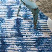 Teppich 'Kito' in schönem Blau