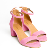 Absatz-Sandale 'Catherine' in Pink