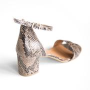 Snake-Sandale 'Catherine' mit Blockabsatz