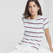 Nachhaltiges Retro-Shirt mit Streifen