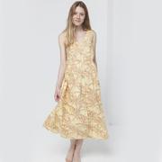 Nachhaltiges Sommerkleid mit Palmenprint