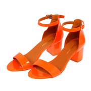 Absatz-Sandale 'Catherine' in Neonorange