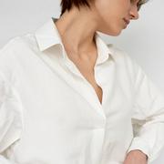 Luftiges Hemd 'Rosa' in Weiss