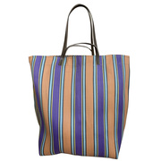 Die grosse 'Market Bag' violett/orange