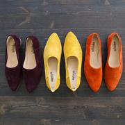 Oranger Loafer von 'Angulus'