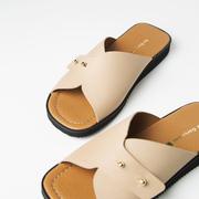 Slide-Sandale 'Lola' in 3 Farben