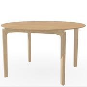 Runder Tisch 'Leaf' in Eiche