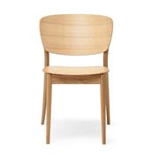 Einzelstück: Stuhl 'Valencia' in Eiche geölt