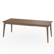 Auszieh-Tisch 'Jylland' in Nussbaum