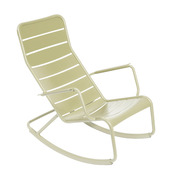 Rocking chair luxembourg fermob vert tilleul