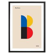 Kunstdruck 'B for Bauhaus'