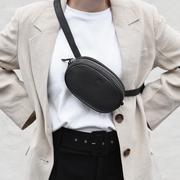 Coole Gürteltasche 'Eloise' in Schwarz
