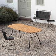 4er Gartenset 'Beam' mit Paon-Stühlen
