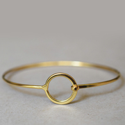 Schlichtschöner Armreif 'Simple Ring'