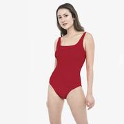 Roter Lieblings-Badeanzug von 'Volans'