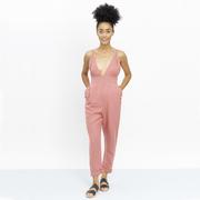 Sommerliebling: Leinen-Jumpsuit in Rosé