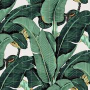 Wandbild 'Banana Leaf'
