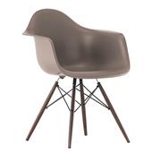 Einzelstück: 'Eames Plastic Armchair' Mauve
