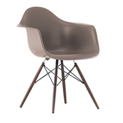 Einzelstücke: 'Eames Plastic Armchair' mauve