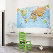 'The World' für die Wand