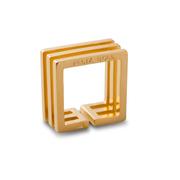 Eckiger Ring 'Trio Square'