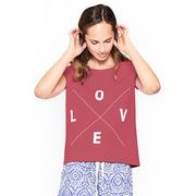 Nachhaltiges Liebes-Statement-Shirt