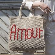 Handgearbeiteter Shopper 'Amour'