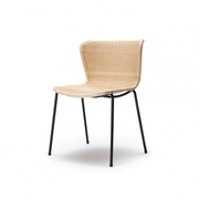 Stuhl 'C603' in Split Rattan
