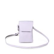Hochformatige Crossbody-Bag in Lavendel