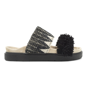 'Slipper Raffia Black' von Inuiiki