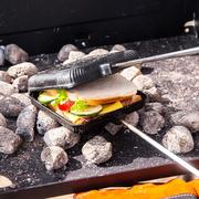 Sandwich-Eisen fürs Lagerfeuer
